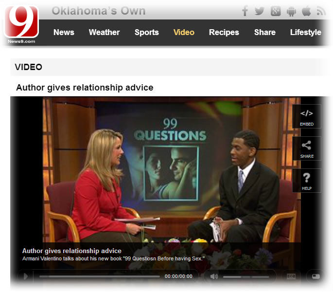 Armani Valentino Interviewed on News9