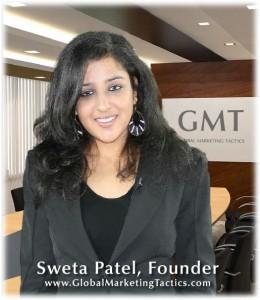 Sweta Patel, Founder of Global Marketing Tactics