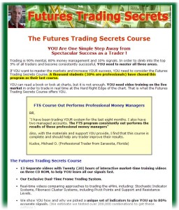 Bill McCready's eCourse on Futures Trading
