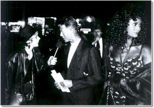 David Bowie & Gayl Murphy