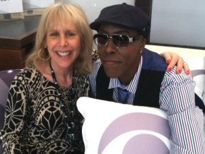 Gayl Murphy & Arsenio Hall
