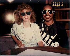 Stevie Wonder & Gayl Murphy