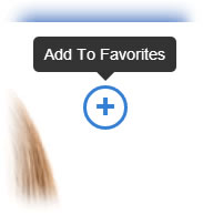 Add To Favorites Icon Example