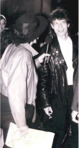 Mick Jagger & Gayl Murphy