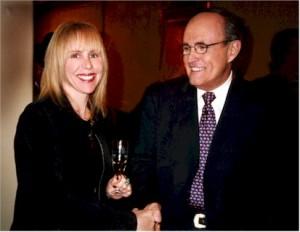 Rudy Giuliani & Gayl Murphy