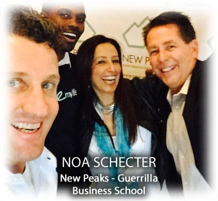 Noa Schecter New Peaks - Guerrilla Business School