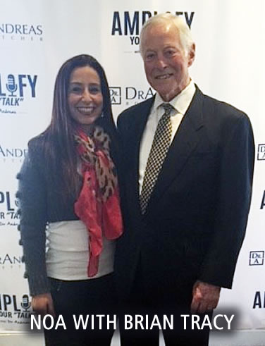 Noa Schecter Pofessional Speaker with Brian Tracy