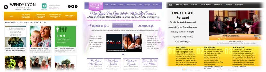 Wendy Lyon's Websites